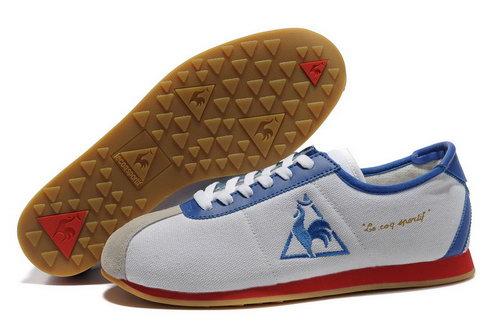 buy popular 4b8d9 2e827 Le Coq Sportif Mens Denim White Blue Red Shoes Denmark