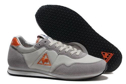 new arrivals 6d61d 61836 Le Coq Sportif Womens   Mens (unisex) Grey Cream Orange Shoes Low Price